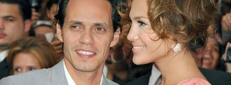 Marc Anthony y JLo, amigos