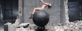 "Miley Cyrus, imbatible con ""Wrecking Ball"""