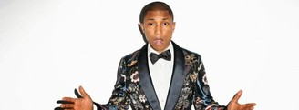 Pharrell Williams lidera Spotify y iTunes