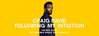 "Craig David estrena nuevo álbum: ""Following My Intuition"""