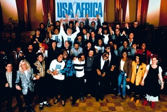 'We are the world' cumple 33 años