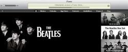 The Beatles actúan en iTunes