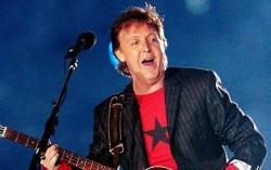 Paul McCartney, en el Teatro Apollo